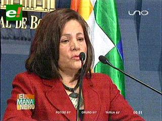 Ministra Dávila: Fuga de Pinto no afectará la relaciones con Brasil