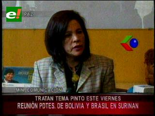 Dávila confirma viaje de Morales a Surinam para tratar el caso Pinto con Rouseff