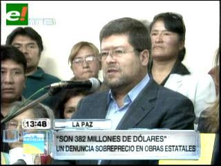 Doria Medina denuncia sobreprecio en tres obras del Gobierno