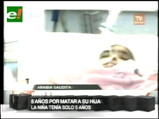 Viola y mata a su hija de cinco años y solo recibe ocho años de prisión