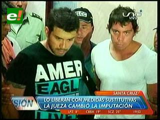 Hermano de Hardy Gómez sale en libertad, le dieron arresto domiciliario
