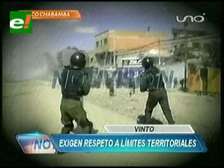 Al menos 42 detenidos y dos policías heridos deja el desbloqueo en la carretera a Cochabamba