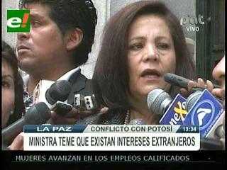 Gobierno teme que intereses chilenos estén circundando Comcipo
