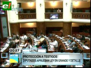 Diputados aprueban Ley para dar garantías y protección a denunciantes de delitos