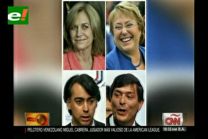 Cierre de campaña electoral en Chile: dos mujeres y una presidencia
