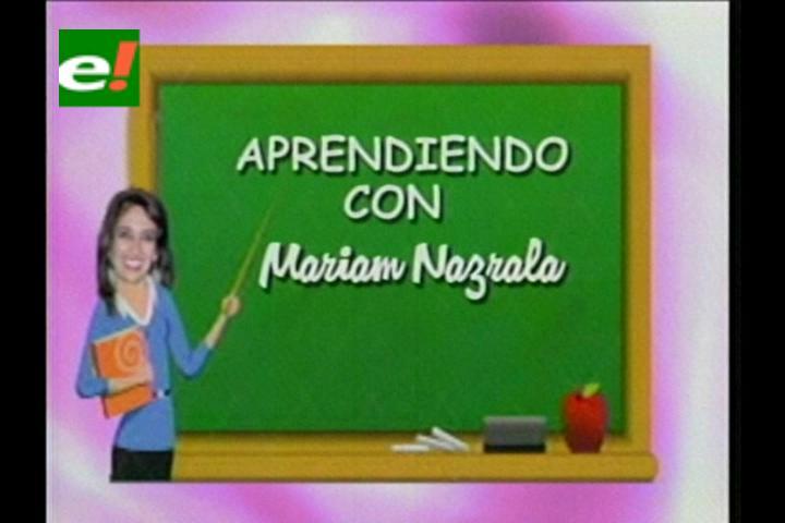 Aprendiendo con Mariam Nazrala