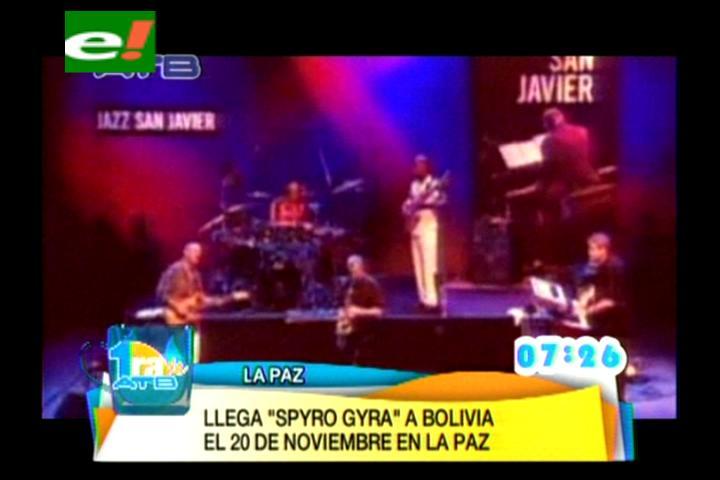 Spyro Gyra trae smooth jazz y fusión a La Paz