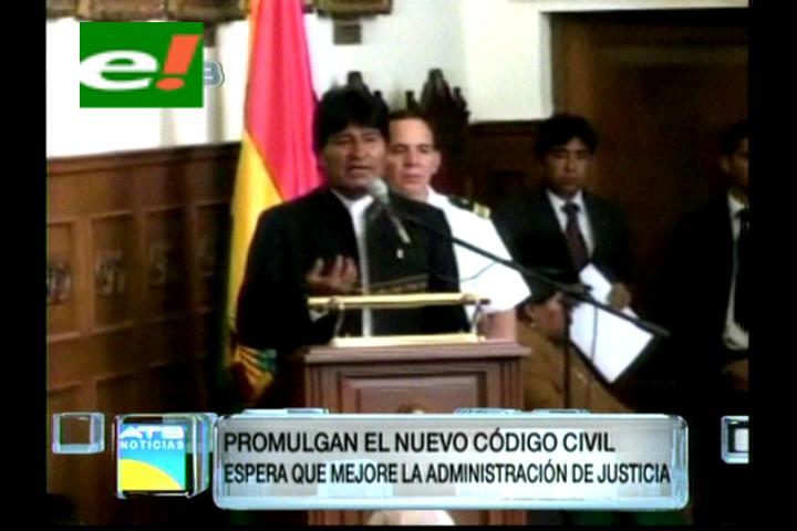Gobierno promulga nuevo Código Procesal Civil
