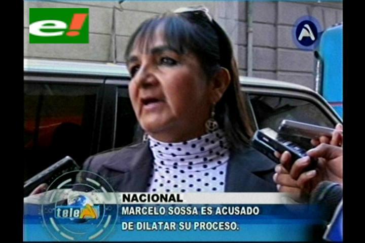 Senadora Gonzales exige a Soza someterse a procesos en La Paz