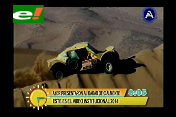 El Dakar 2014 rodará por el salar