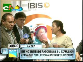 IBIS asegura que su expulsión afecta a 76.000 jóvenes, niños, mujeres y productores indígenas