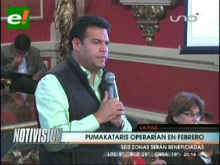 Alcaldía plantea 5 rutas para los Puma Katari y sólo 3 se implementarán