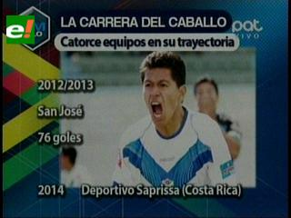 Saprissa pagó $us 35 mil a San José por Saucedo