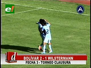 Bolívar gana a Wilstermann