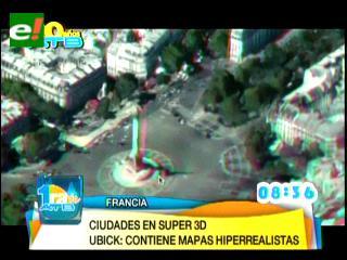 IMAO presenta UBICK: la primera biblioteca de datos 3D disponibles en las ciudades francesas
