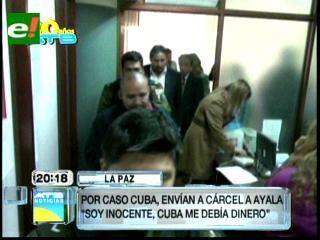 Envían a la cárcel a cuarto acusado de estafa en el caso Cuba