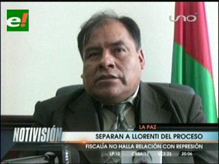 Excluyen a Sacha Llorenti del caso Chaparina. Fiscal Ponce afirma que no hay elementos en su contra