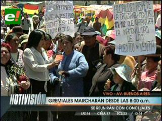 Gremiales de la Garita de Lima se resisten a reubicación