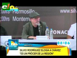 Silvio Rodríguez: Chávez es un grande de América que estará para siempre