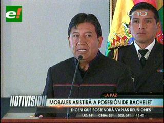 Evo Morales asistirá a la transmisión de mando en Chile
