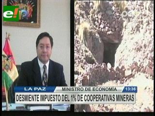 Gobierno desmiente que cooperativas mineras tributarán el 1% del valor de la producción