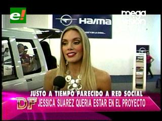 "Jessica Suárez quería estar en ""Red Social"""