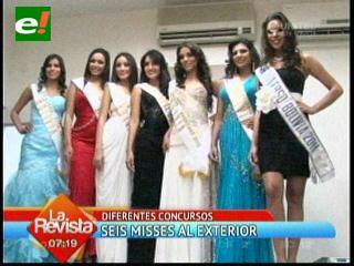 Seis bellas mujeres se llaman Bolivia