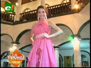 Miss Adolescencia Bolivia 2012 es Carolina Salas