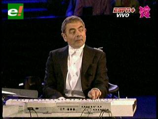 Mr. Bean la sorpresa de los Juegos Olímpicos