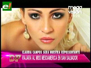 Señorita Santa Cruz 2012 rumbo al Miss Mesoamérica Internacional