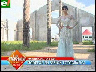 Las Magníficas en sesión de fotos para Bolivia Moda 2013