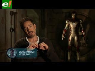 Iron Man 3: Entrevista detrás de cámaras con sus protagonistas