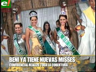 Bellas benianas rumbo al Miss Bolivia 2013