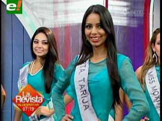 Miss Bolivia 2013: Mañana las candidatas estarán frente al jurado