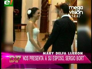 María Delfa Lijerón habla de su reciente boda