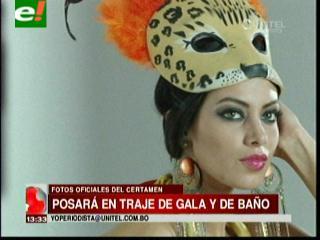 Miss Bolivia Universo 2012, Alexia Viruez, preparada para el certamen universal
