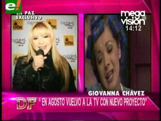 Giovanna Chávez vuelve a la pantalla chica