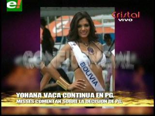 Yohana Vaca continúa trabajando con Promociones Gloria