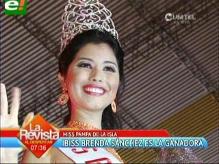 Miss Pampa de la Isla 2013 es Brenda Sánchez