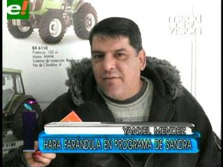 """Yankel Méndez: """"Vuelvo a trabajar con la mejor presentadora de televisión nacional"""""""