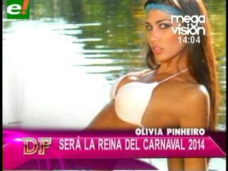 Según D&F, Olivia Pinheiro es la Reina del Carnaval 2014