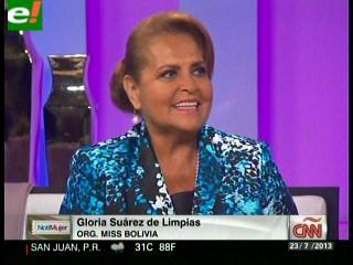 Gloria de Limpias entrevistada en CNN