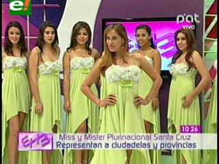 Elegirán a Miss Plurinacional Santa Cruz 2013