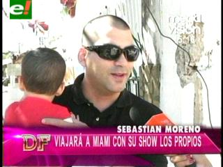 Sebastián Moreno se va de gira internacional