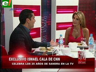 Así entrevistó Sandra Coscío en exclusiva a Ismael Cala
