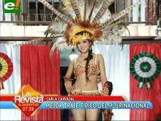 Miss Plurinacional Santa Cruz 2013 entrega títulos previos