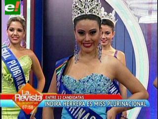 Miss Plurinacional Santa Cruz 2013 es Indira Herrera