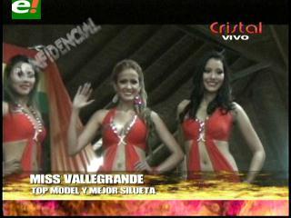 Miss Vallegrande 2013 entregó títulos previos