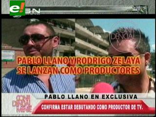 Pablo Llanos debutará como productor de Tv