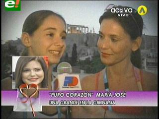 Emotiva entrevista de Sandra Parada a su hija María José